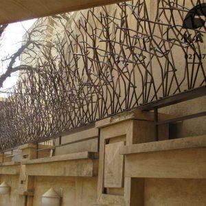 حفاظ شاخ گوزنی پروژه قلهک