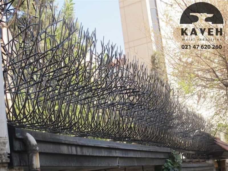 روش های نصب حفاظ بوته ای و حفاظ شاخ گوزنی