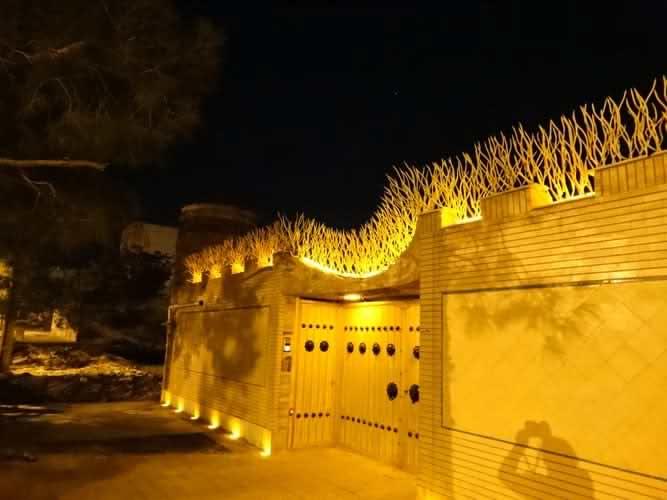 نورپردازی حفاظ شاخ گوزنی2