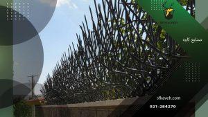 حفاظ شاخ گوزنی روی دیوار